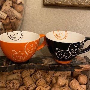 Starbucks 2007 Halloween coffee mugs